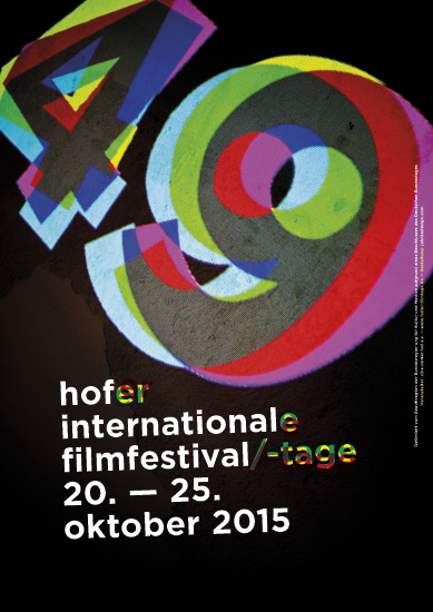 plakat/poster internationale filmtage hof