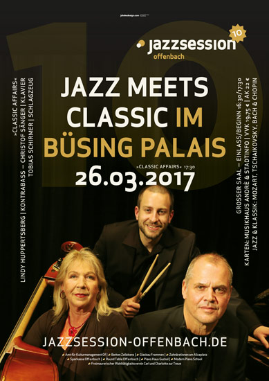 plakat/poster jazzsession offenbach classic