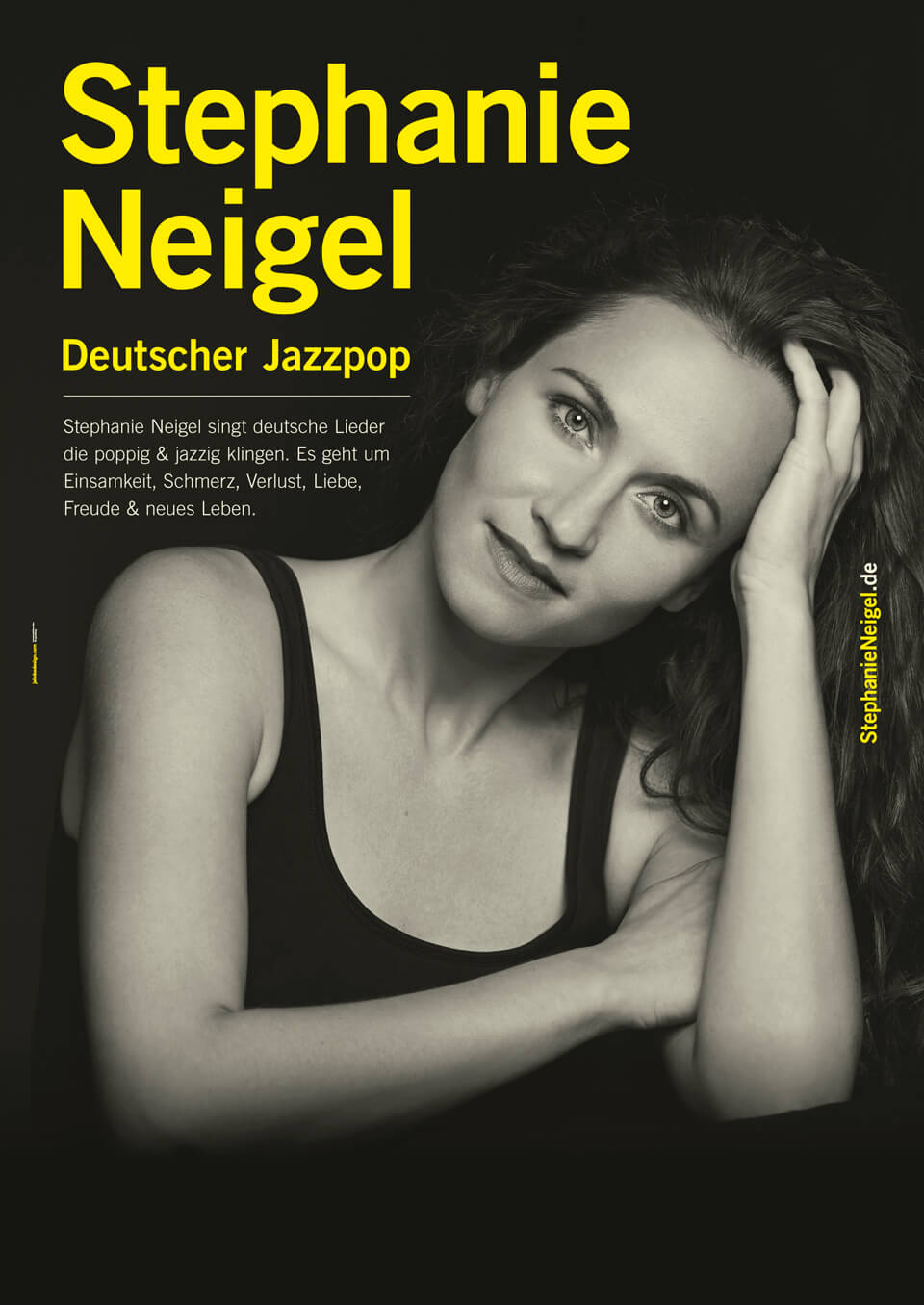 plakat/poster design stephanie neigel german jazz pop