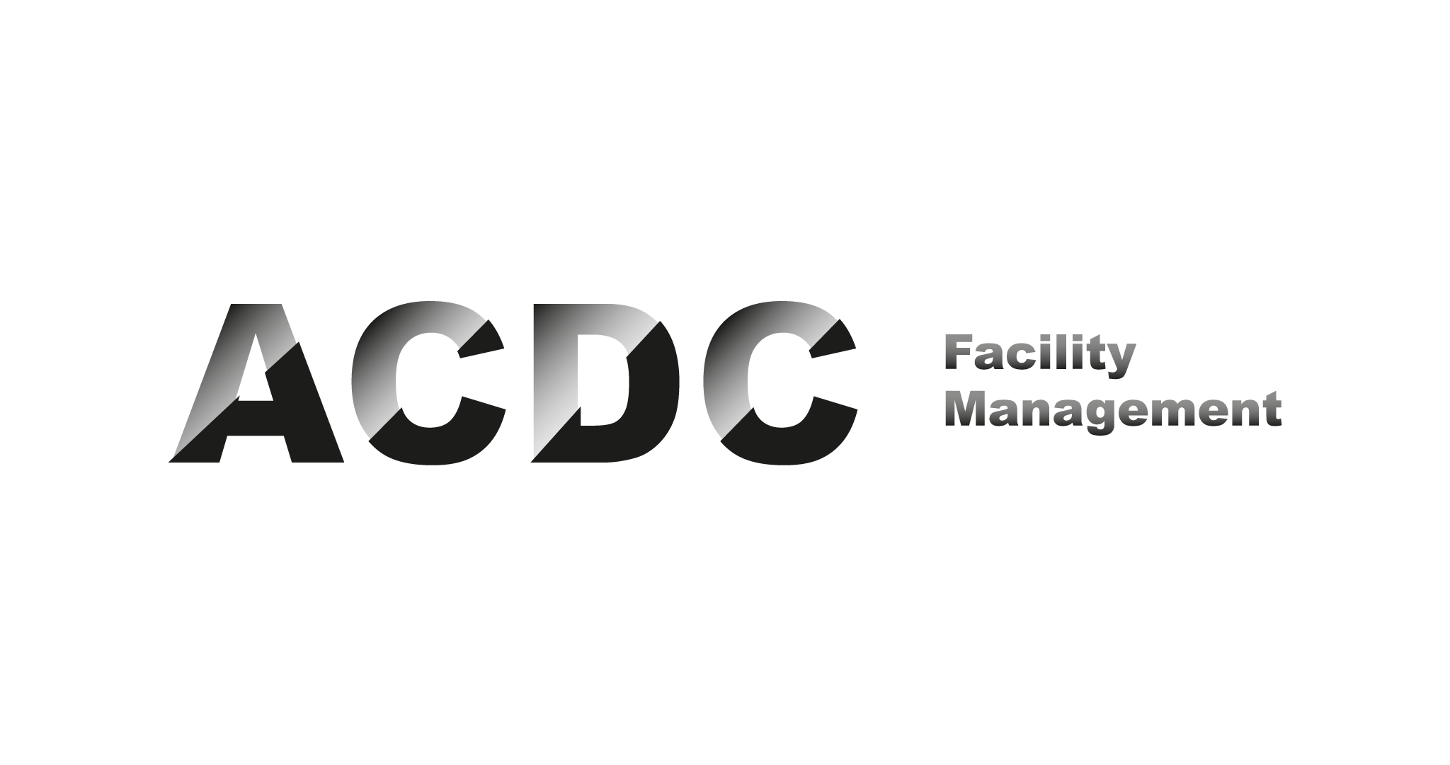 acdc facility management logo branding